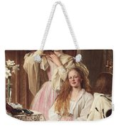 Portrait Of Emma And Frederica Bankes Weekender Tote Bag
