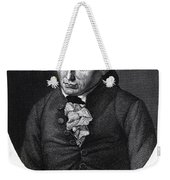 Portrait Of Emmanuel Kant  Weekender Tote Bag by German School