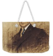 Portrait Of Enric Borras Weekender Tote Bag