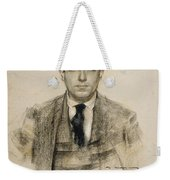 Portrait Of Eugeni D'ors Weekender Tote Bag