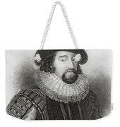 Portrait Of Francis Bacon Weekender Tote Bag by English School