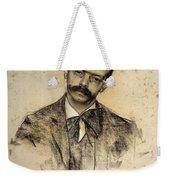 Portrait Of Gabriel Alomar Weekender Tote Bag