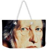Portrait Of Georg Wilhelm Friedrich Hegel Weekender Tote Bag