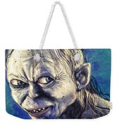 Portrait Of Gollum Weekender Tote Bag