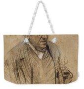 Portrait Of Iscle Soler Weekender Tote Bag