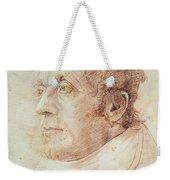 Portrait Of Jmw Turner Weekender Tote Bag by Cornelius Varley