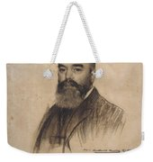 Portrait Of Joan Garriga Weekender Tote Bag