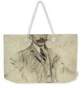Portrait Of Joan Ventosa Weekender Tote Bag