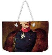 Portrait Of Kaiser Wilhelm II 1859-1941 Weekender Tote Bag