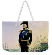 Portrait Of King William Iv Plate 14 Weekender Tote Bag