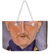Portrait Of Leon Bakst Weekender Tote Bag