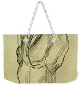 Portrait Of Ludovic Halevy Weekender Tote Bag by Edgar Degas
