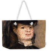 Portrait Of Madame Paul Darras Weekender Tote Bag