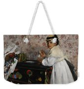 Portrait Of Mademoiselle Hortense Valpincon Weekender Tote Bag