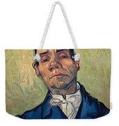 Portrait Of Man Weekender Tote Bag