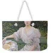 Portrait Of Marguerite Durand Weekender Tote Bag