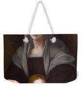 Portrait Of Maria Salviati De' Medici With Giulia De' Medici Weekender Tote Bag