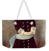 Portrait Of Martha Berard Weekender Tote Bag