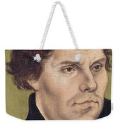 Portrait Of Martin Luther Aged 43 Weekender Tote Bag
