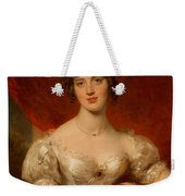 Portrait Of Mary Anne Bloxam Weekender Tote Bag by Thomas Lawrence