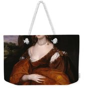 Portrait Of Mary Hill Weekender Tote Bag