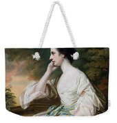 Portrait Of Miss Anne Dutton Weekender Tote Bag