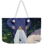 Portrait Of Monsieur Brun Weekender Tote Bag