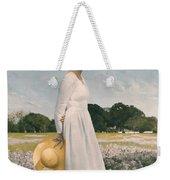 Portrait Of Mrs Lyndon B Johnson Weekender Tote Bag by Mountain Dreams