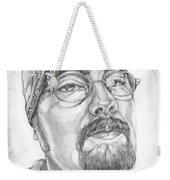 Portrait Of My Husband Weekender Tote Bag