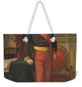 Portrait Of Napoleon IIi 1808-73 1862 Oil On Canvas Weekender Tote Bag