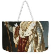 Portrait Of Napoleon In Coronation Robes Weekender Tote Bag