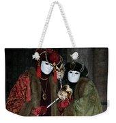 Venetian Carnival - Portrait Of Nobles Weekender Tote Bag