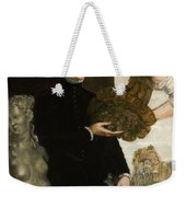 Portrait Of Ottavio Strada Weekender Tote Bag