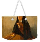 Portrait Of Pauline 1867 Weekender Tote Bag