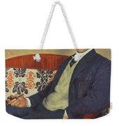Portrait Of Peter Kapitza 1926 Weekender Tote Bag
