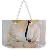 Portrait Of Raquel Meller Weekender Tote Bag