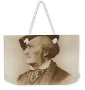 Portrait Of Richard Wagner German Weekender Tote Bag