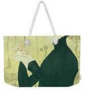 Portrait Of Sarah Bernhardt Weekender Tote Bag by Manuel Orazi