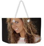 Portrait Of Sarah Weekender Tote Bag