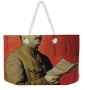 Portrait Of Stalin Weekender Tote Bag