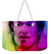 Rainbow Portrait Of Stevie Winwood Weekender Tote Bag