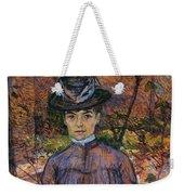 Portrait Of Suzanne Valadon Weekender Tote Bag