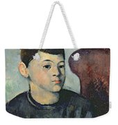Portrait Of The Artists Son Weekender Tote Bag