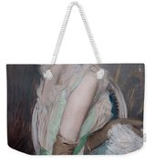Portrait Of The Countess De Leusse Weekender Tote Bag