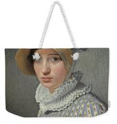 Portrait Of The Model Maddalena Or Anna Maria Uhden Weekender Tote Bag
