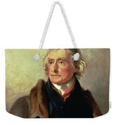 Portrait Of Thomas Jefferson Weekender Tote Bag