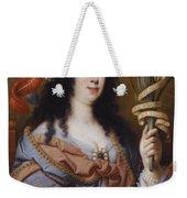 Portrait Of Vittoria Della Rovere As Saint Vittoria Weekender Tote Bag