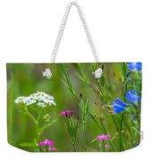 Portrait Of Wildflowers Weekender Tote Bag