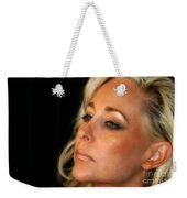 Portrait Young Woman Weekender Tote Bag
