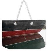 Portside Stern Water Line Queen Mary Ocean Liner Long Beach Ca Weekender Tote Bag